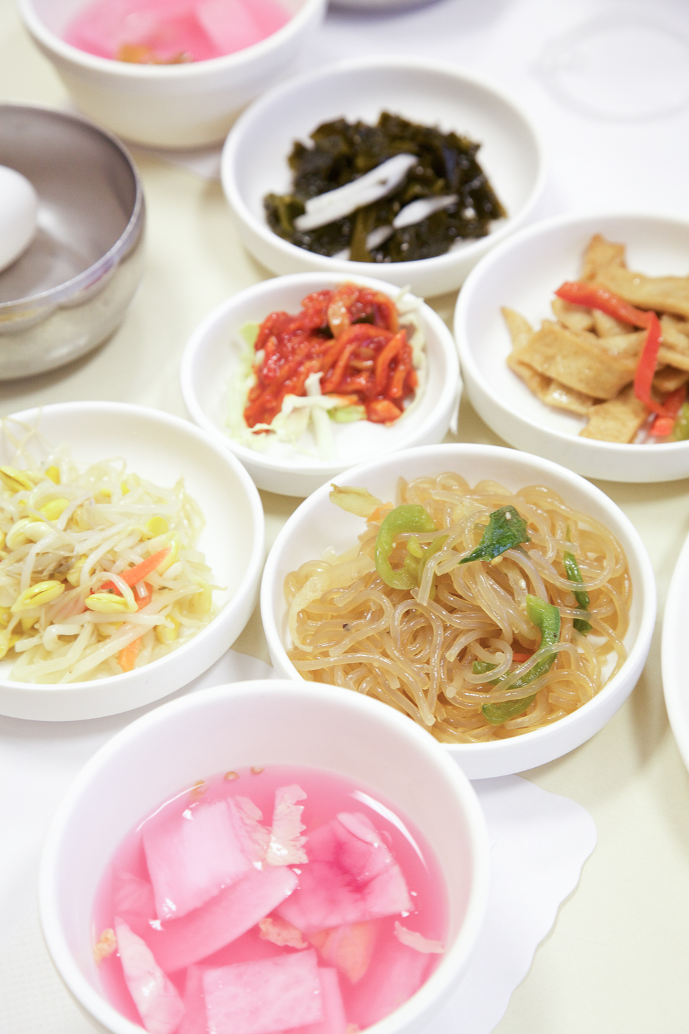 Family of banchan.