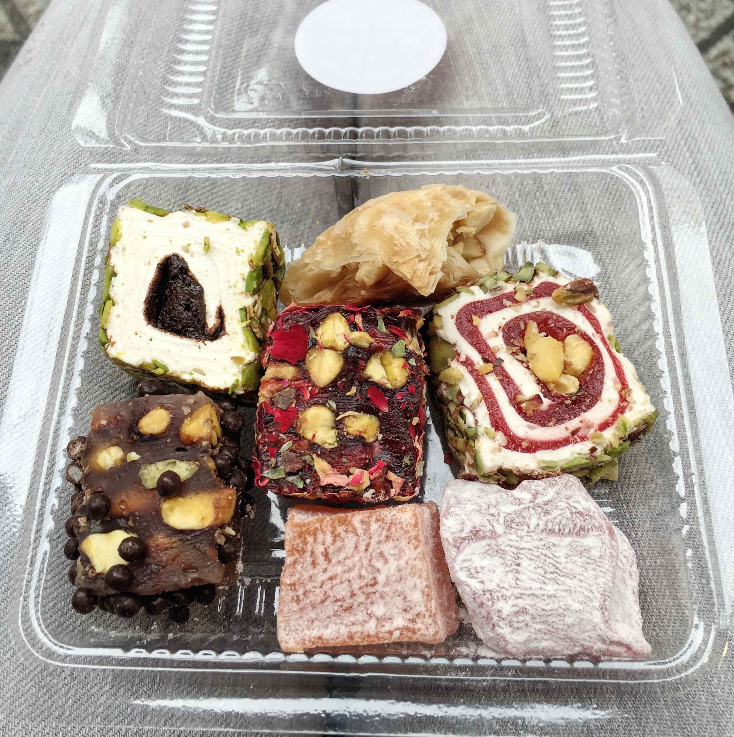 salam bakery turkish delight