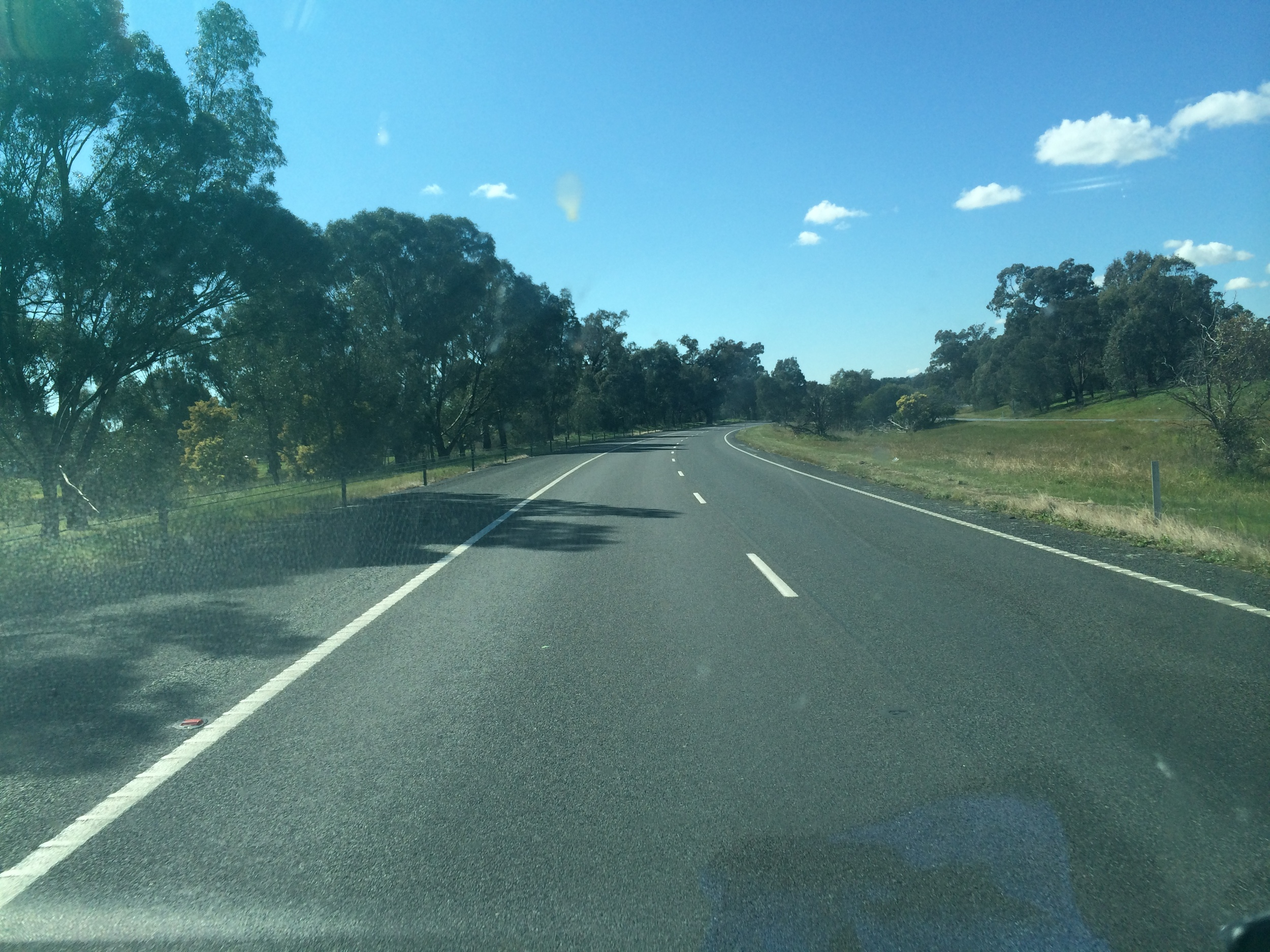 Chewing up the Hume Highway