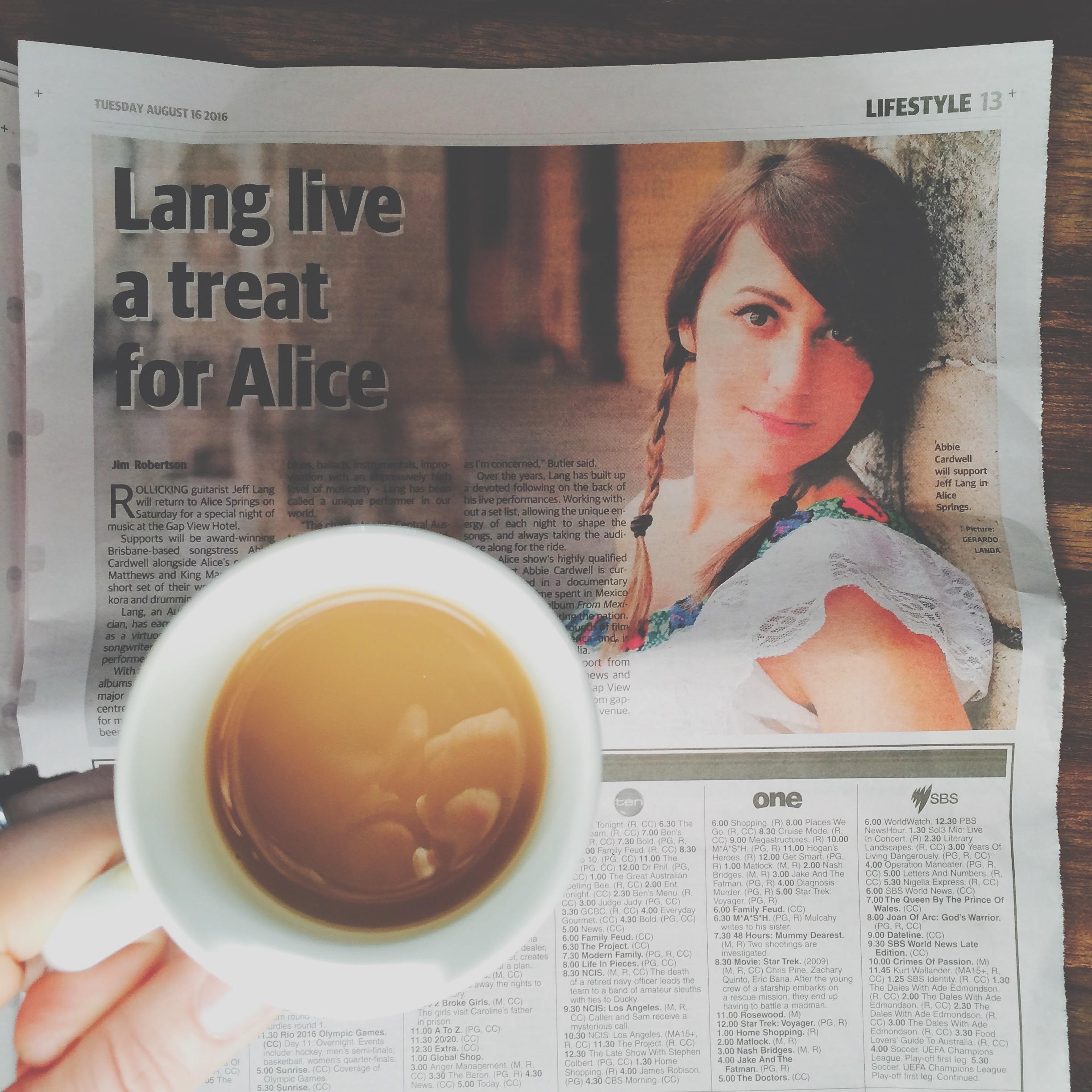 Hello Alice!
