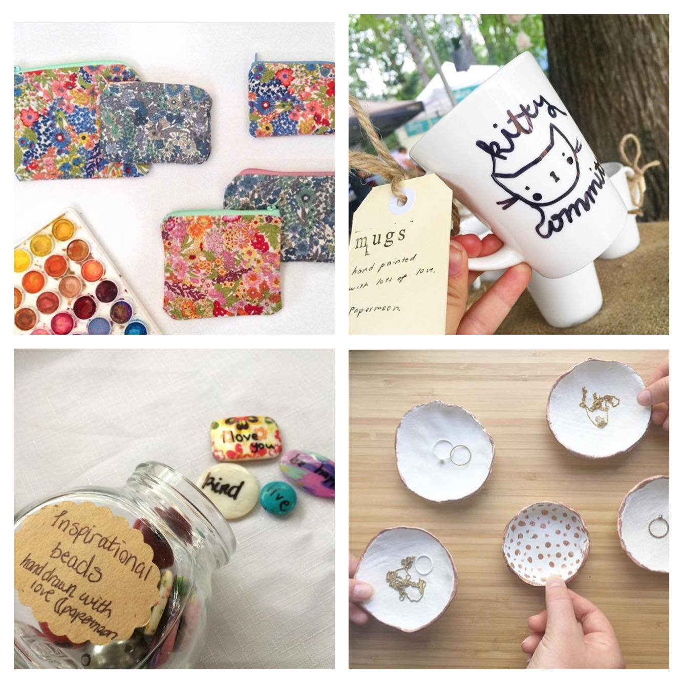 Pop over to Brisbanes Sunday Gap Markets every second week and visit Papermoon Crafts stall and buy some of these cute products! Follow on instagram : @papermoon.crafts