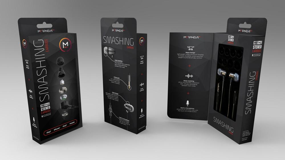 package & logo design  /  morpheus 360