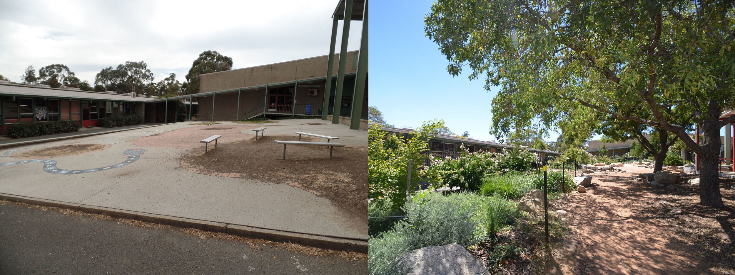 Aranda Primary School Before and After