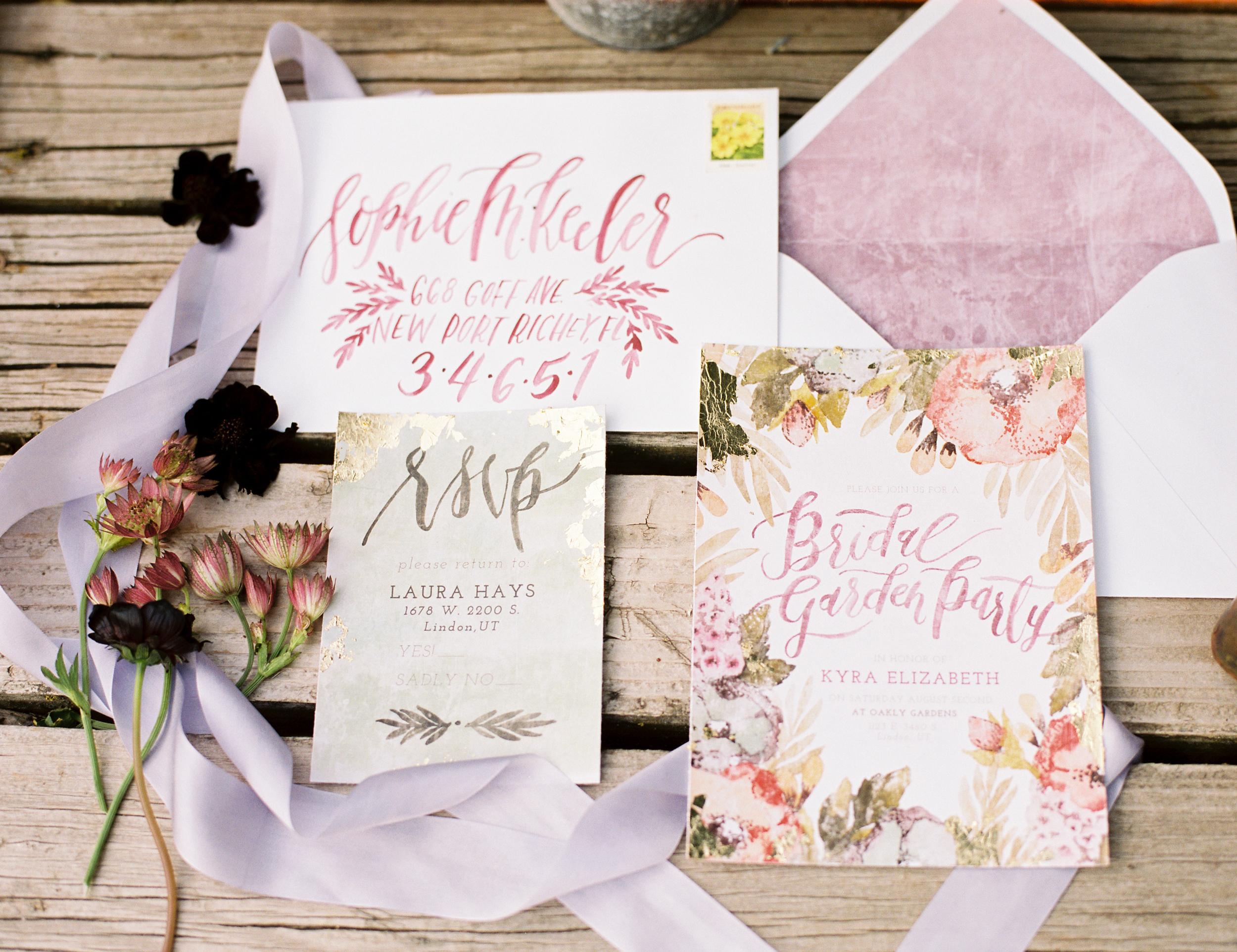 Bridal Shower Invitation - Wildfield Paper Co.
