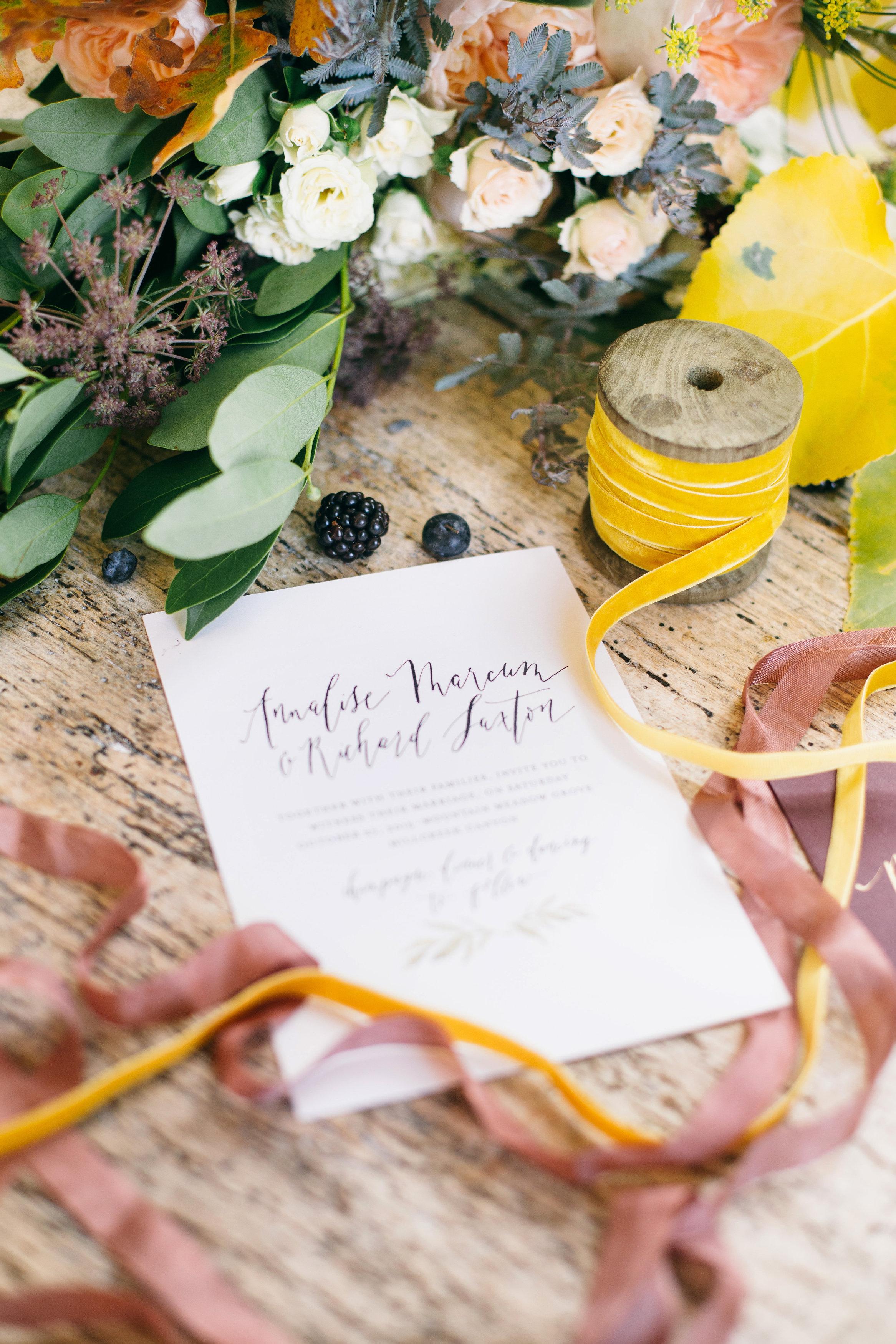Elegant Park City Wedding Inspiration
