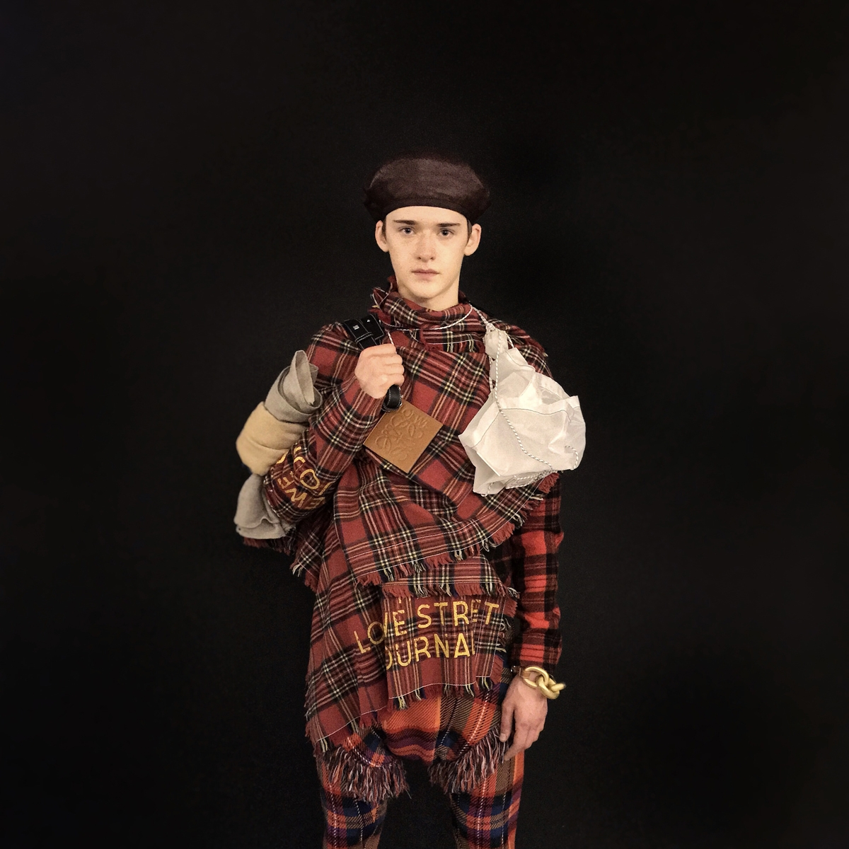#C1PICK tartan total look