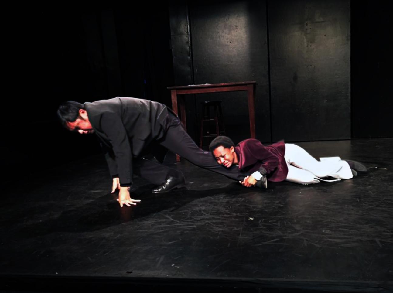 Oscar and Bosie Have a Tiff (Philip Estrera & Mirirai Sithole) By: Andrew Rincon   Directed by Liz Thaler