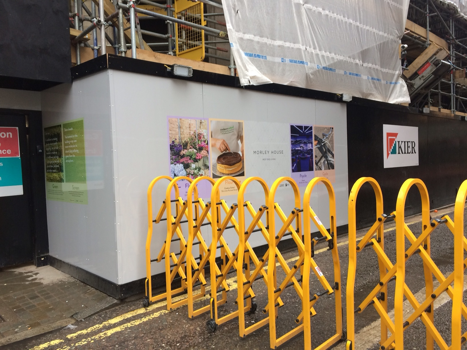 Regent Street Hoarding