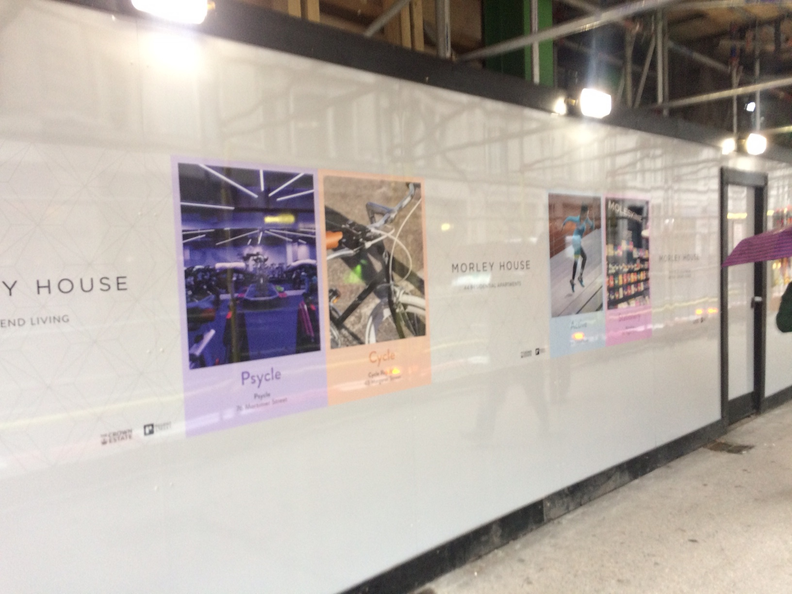 Printed hoarding and Signage