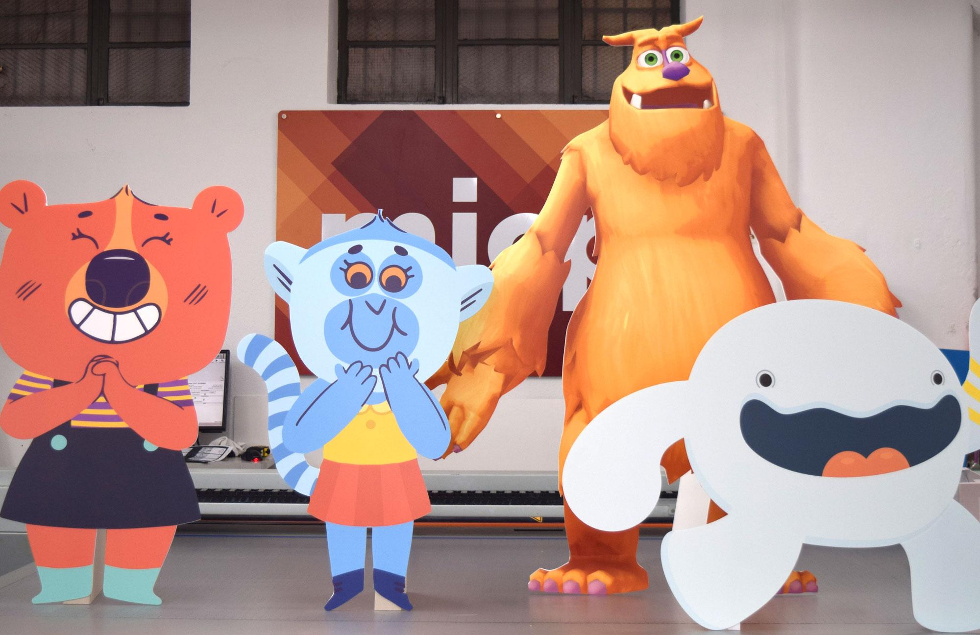 Lifesize Cardboard Characters