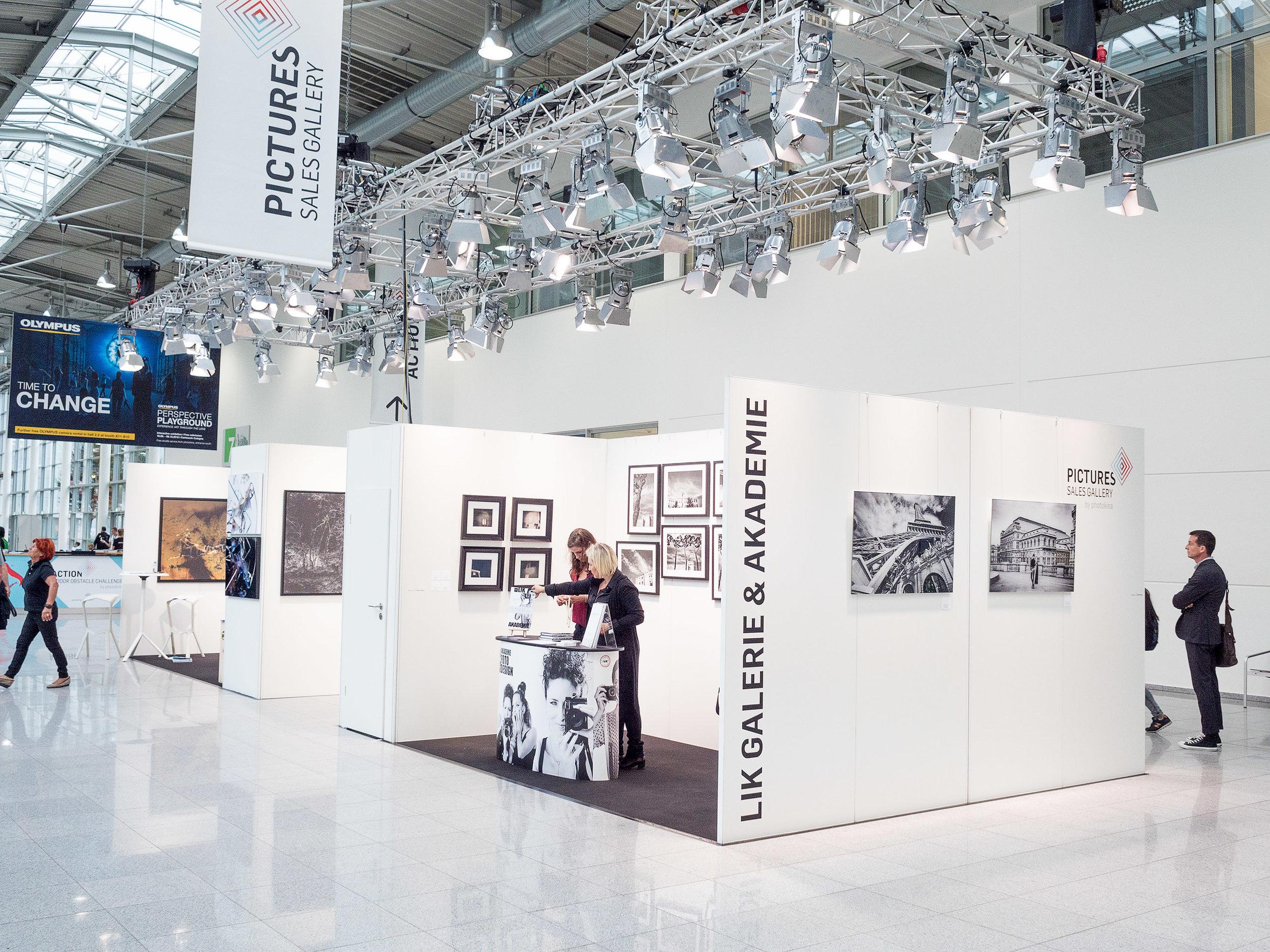 LIK sales Gallery, Boulevard Nord #photokina