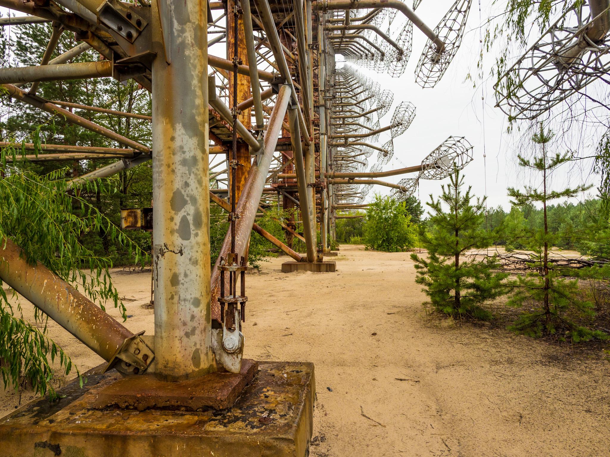 Eric Berger: DUGA 1 Radaranlage bei Tschernobyl