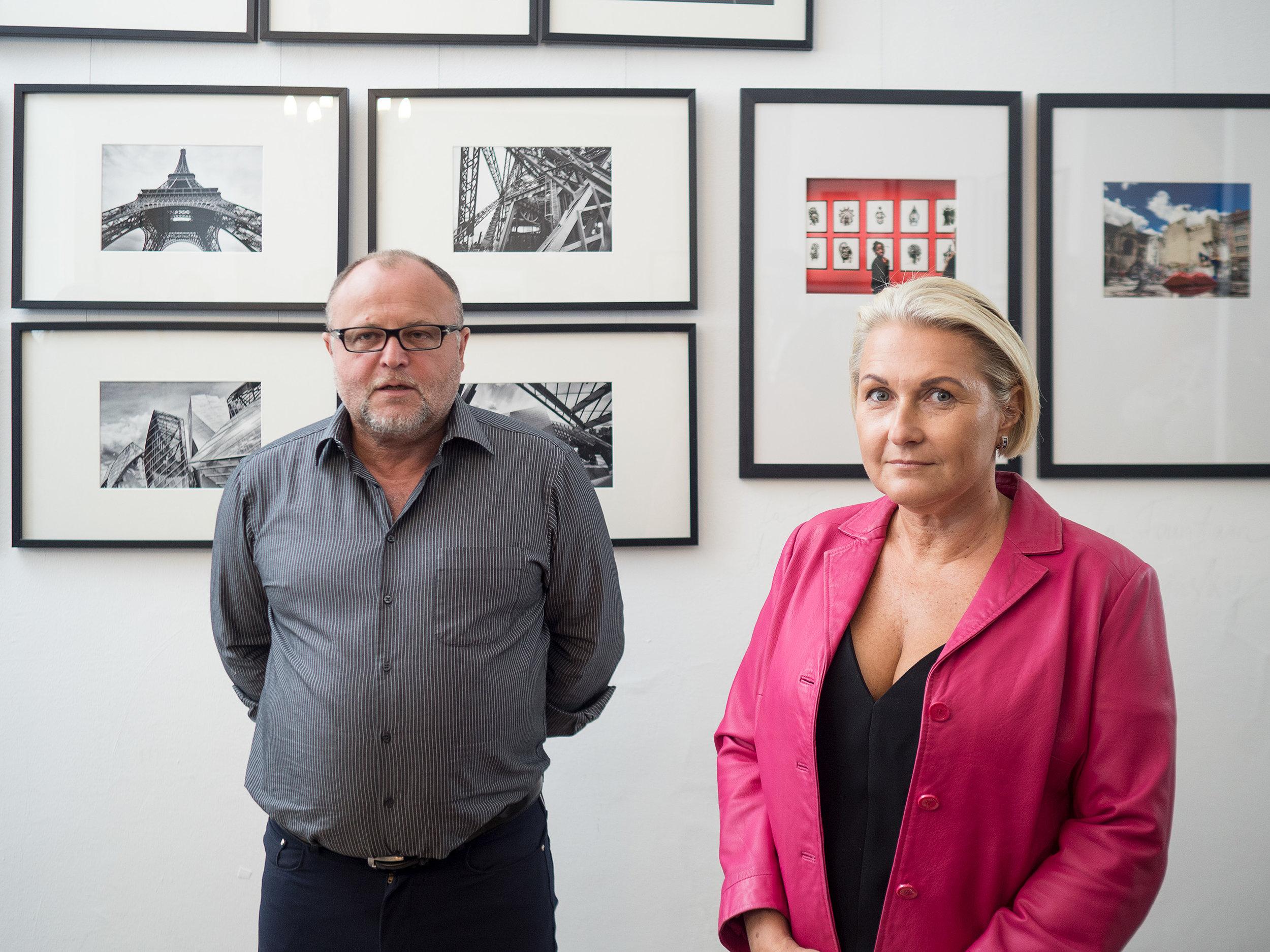 """Eröffnung """"Travel the World"""" von Nadja Gusenbauer und Eric Berger"""