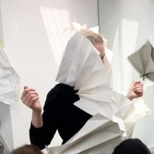 Paper Sculpture - Workshops for Clerkenwell Design Week