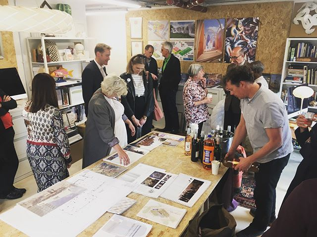Open Studios in full effect!  #deptfordfoundry #deptford #irnbru #architecture #creative #openstudios #secondfloorstudios