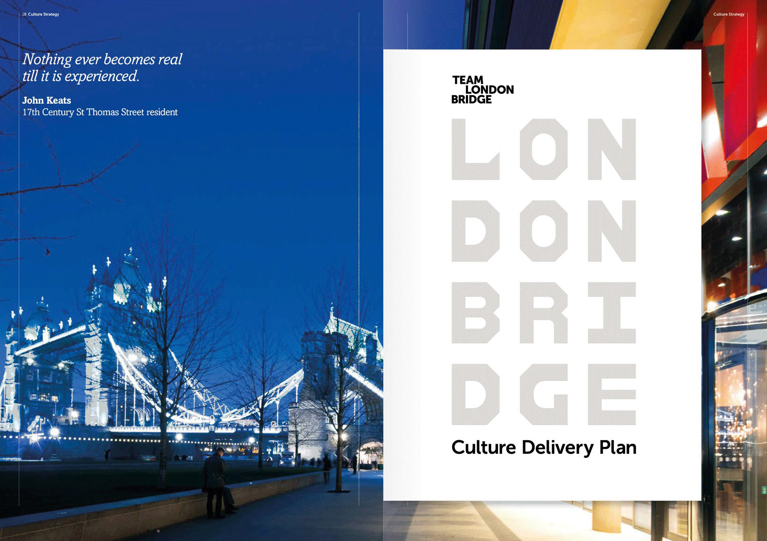 The Culture Delivery Plan, nested within the document.