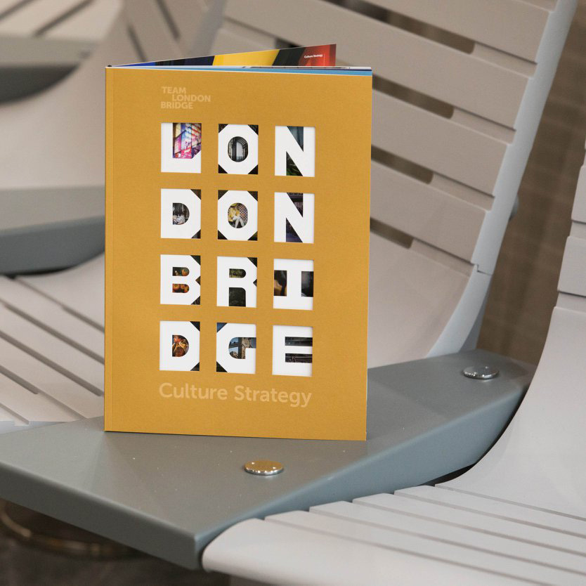 London Bridge Culture Strategy - A graphic identity for London Bridge Culture