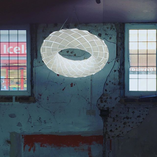 Our lighting installation is up at @south_east_makers_club hub at Deptford Market Yard. Open all weekend as part of @l_d_f_official .  Drop in and be dazzled!  #ldf #ldf2019 @deptfordmktyard #semc #londondesignweek #londondesignfair #london #deptford