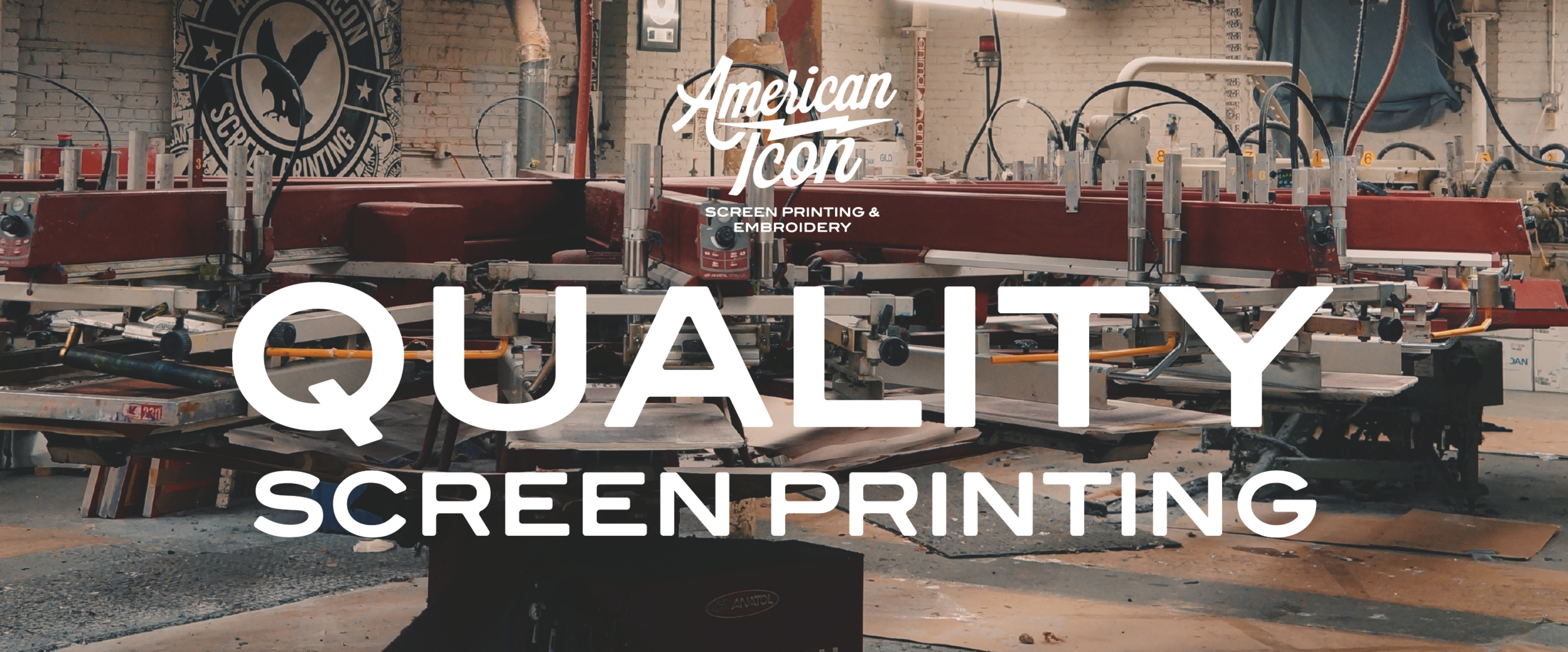 Screen Printing — American Icon Merchandise