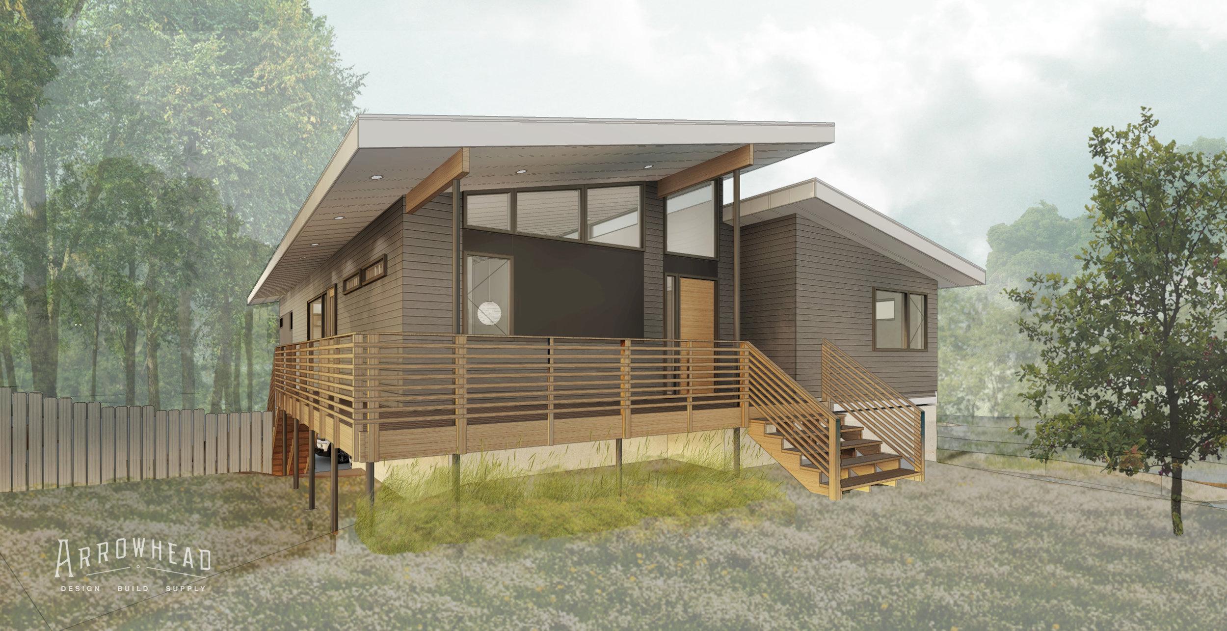 sheffield RESIDENCE  design / build by ARROWHEAD