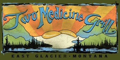 Own your own Two Medicine Grill T-shirt. Available at the Glacier Park Trading Company!