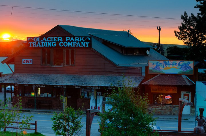 Start your morning at The Two Medicine Grill. Open 6:30am-9:00pm all summer season long. And for you hearty folks who visit in the winter, as darkness closes in, we close one hour earlier. Photo by  Montanaphotographer  Wayne Murphy .