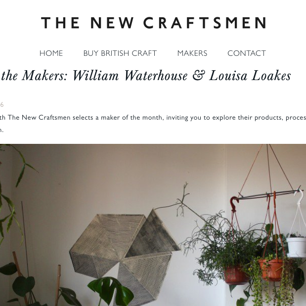 The New Craftsmen