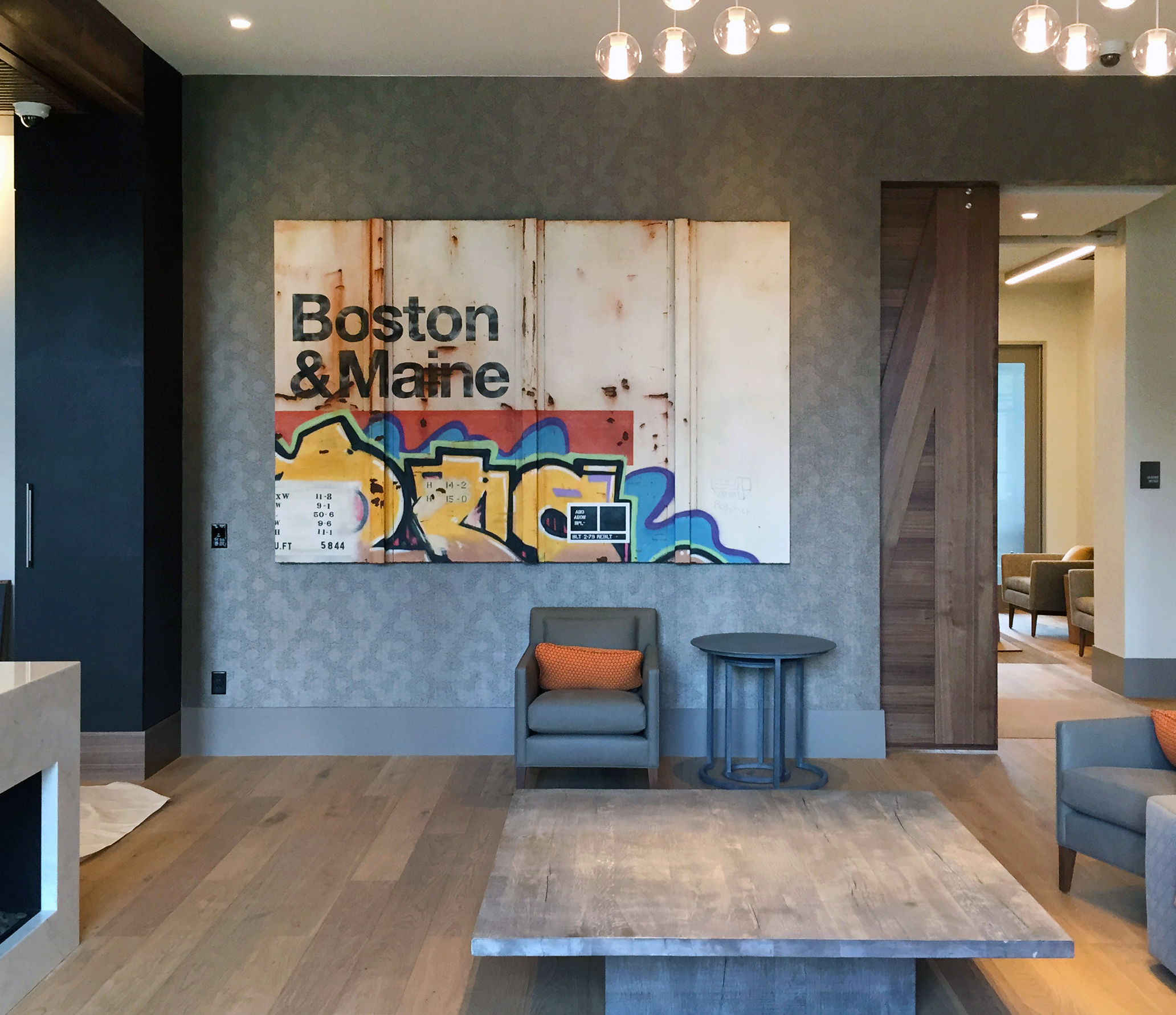 Blank Canvas #71 - B&M, Boston, Tim Conlon Art