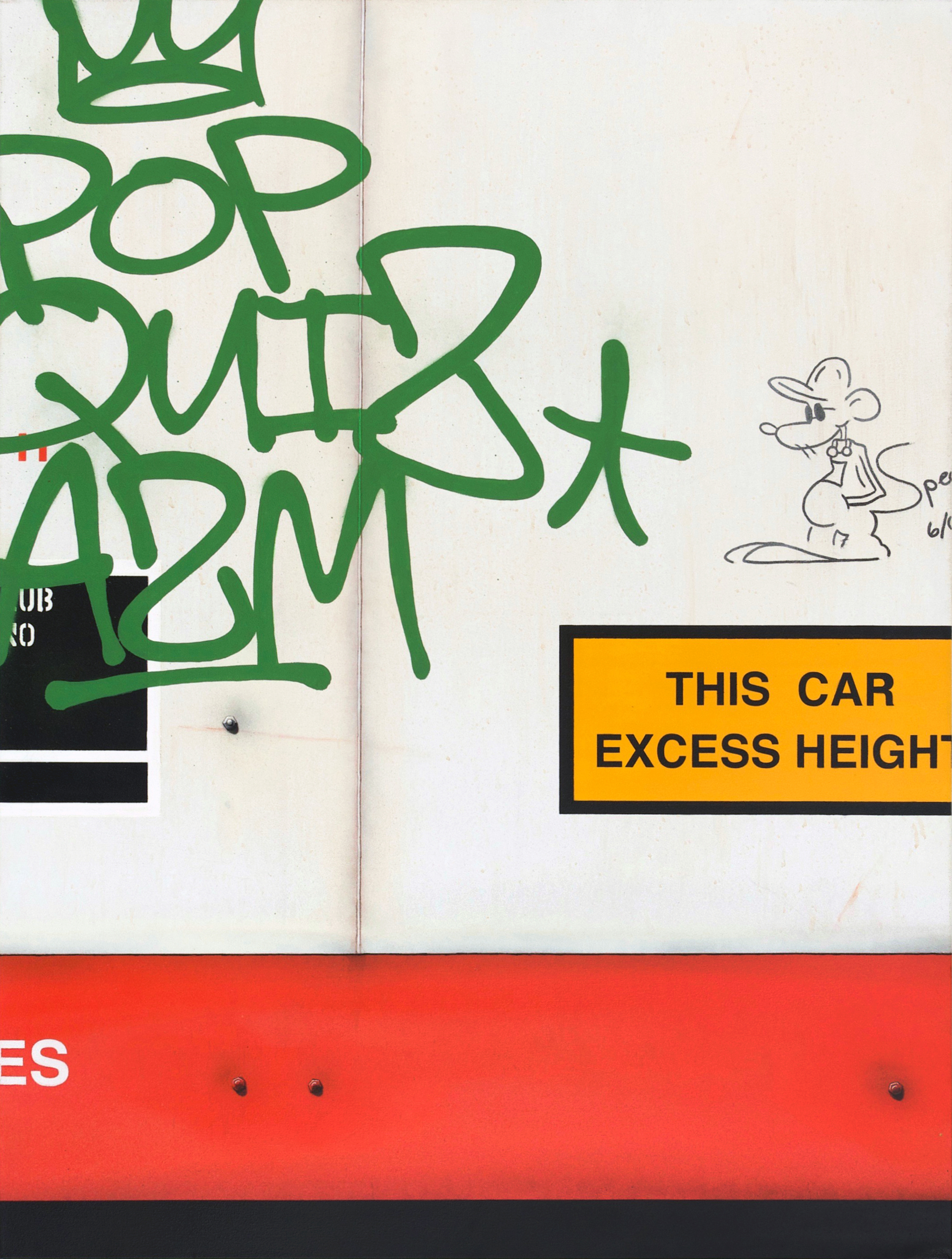 Blank Canvas #44 – CRYX, Freight Train Painting, Boxcar Painting, Railroad Art, Tim Conlon Art