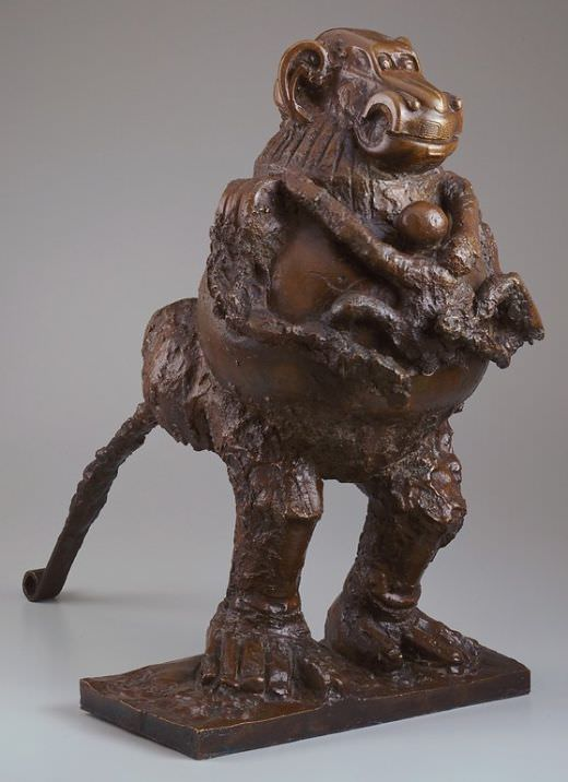 Picasso's Baboon and Young, 1951. Collection Minneapolis Institute of Arts; Gift of funds from the John Cowles Foundation