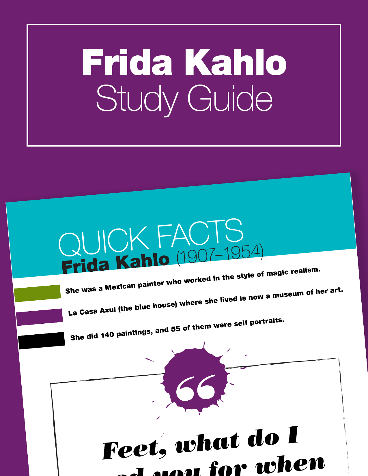 Frida Kahlo for kids: Learn about the famous artist as you paint your own self portraits!