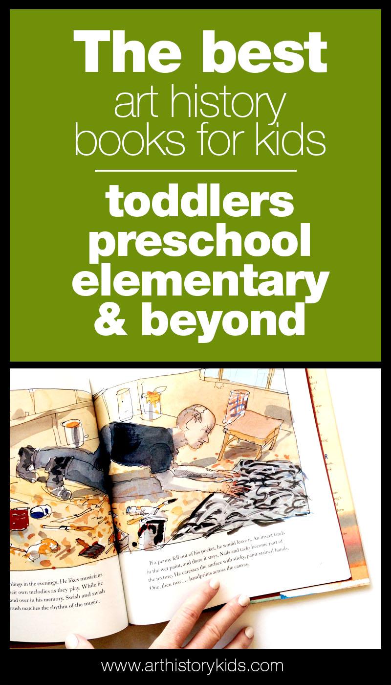 Art History Books for Kids, Homeschool Art Unit Study Literature Resource
