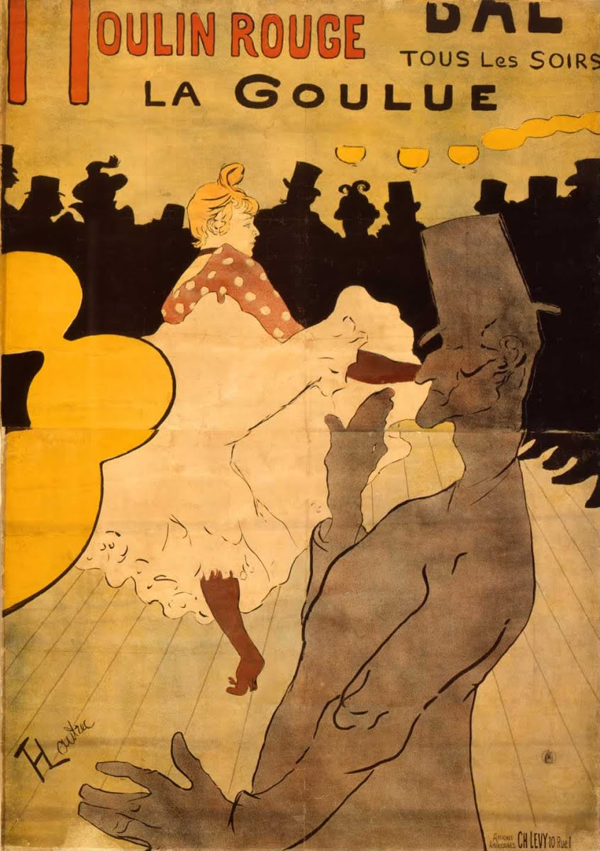 Toulouse Lautrec for kids. Kids can create their own poster and show. A great homeschool art history unit study.