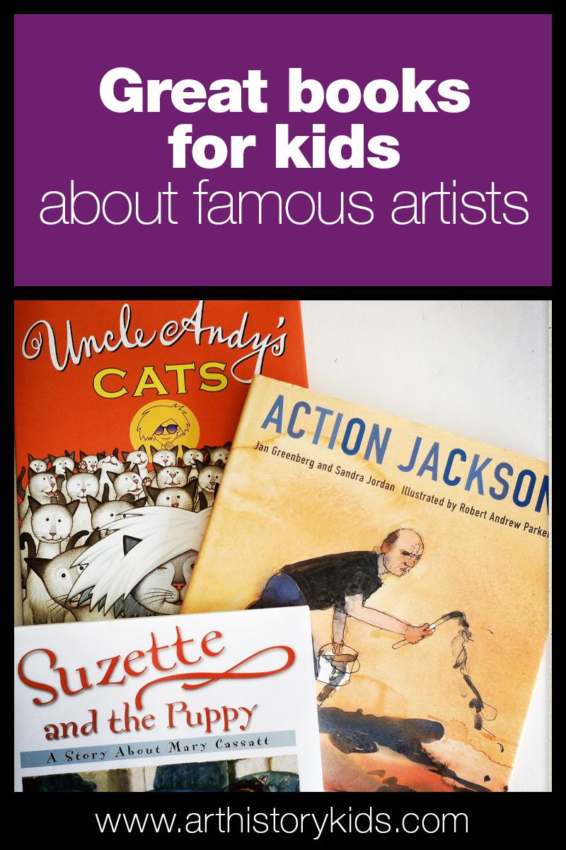 Art History for kids booklist | Homeschool art lessons