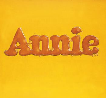 Ed Ruscha, Annie, Poured from Maple Syrup,  1966
