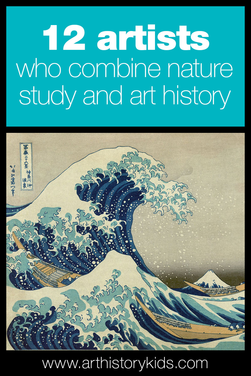 Explore art history and nature study together with your kids. Great homeschool art lesson!