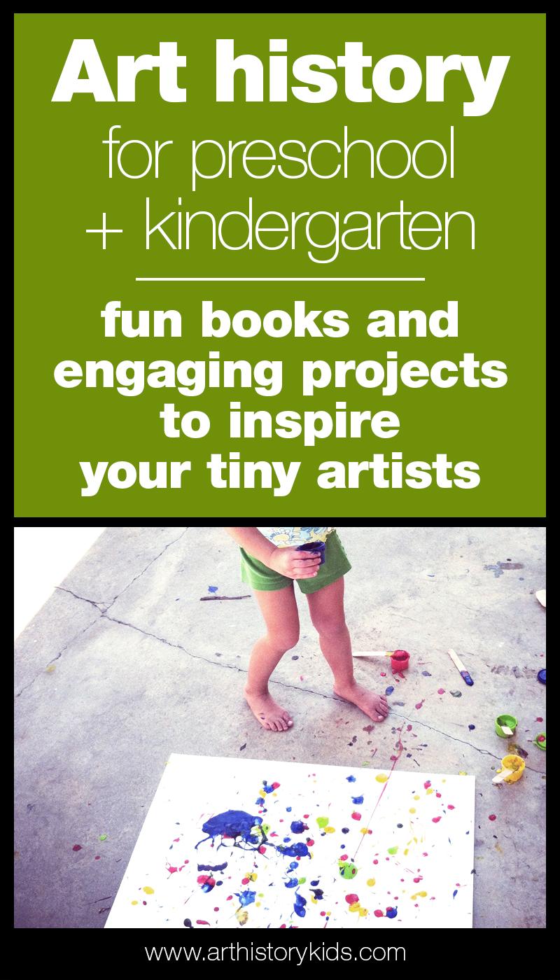 Inspire your preschooler or kindergartener with fun and engaging art history activities!