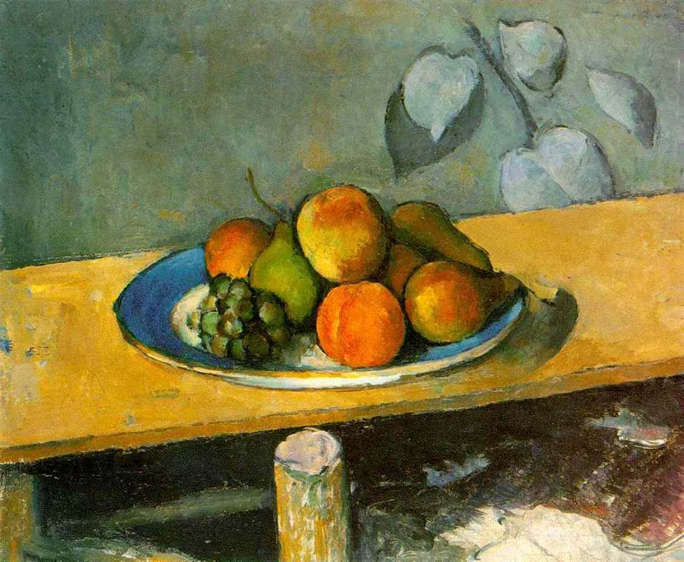 Paul Cezanne | Apples, Pears And Grapes | 1880