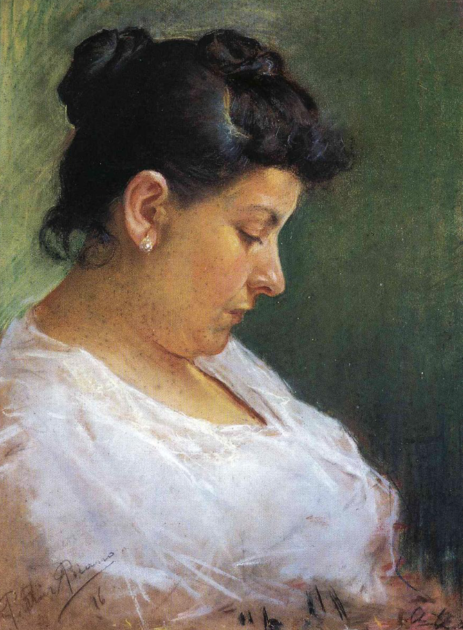 Portrait of the mother of the artist, 1896