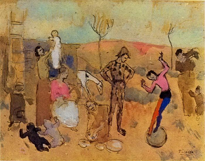 Family Jugglers, 1905