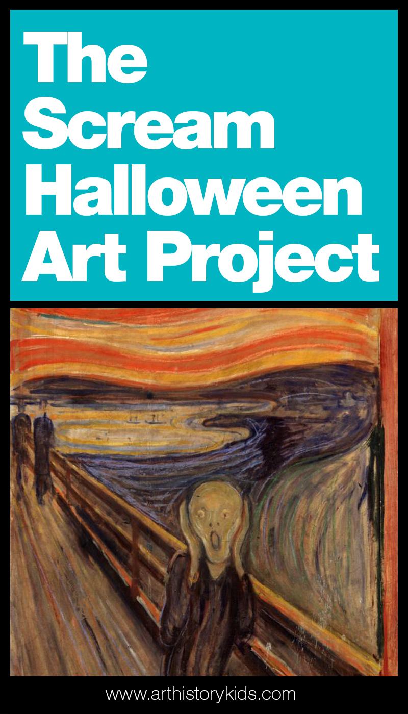 Halloween art activity for kids Edvard Munchs The Scream.jpg
