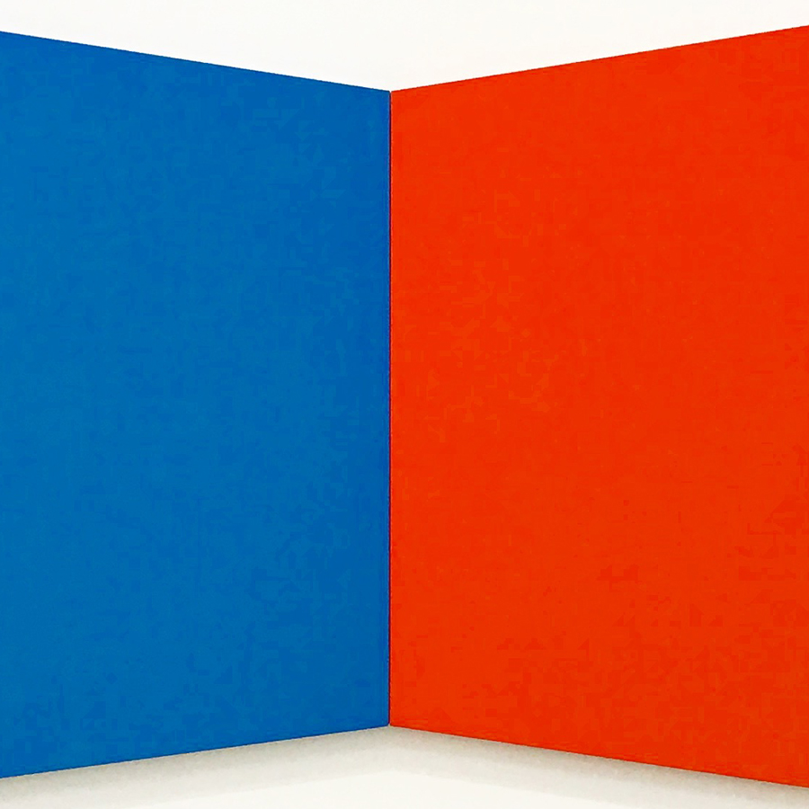 Ellsworth Kelly,   Blue Red,  1968 // May 2017