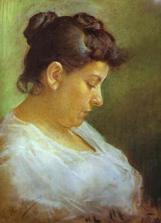 Pablo Picasso , Portrait of the Mother of the Artist , 1896