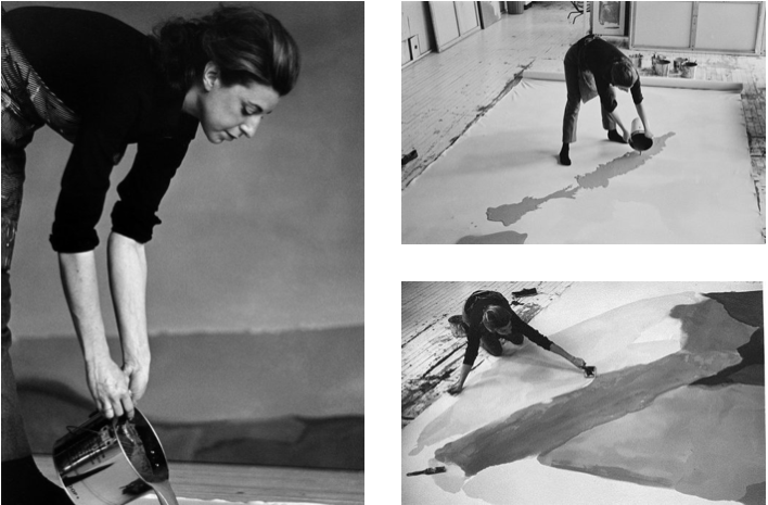 Helen Frankenthaler, Lee Krasner, and the women of abstract expressionism. Art lessons for kids.