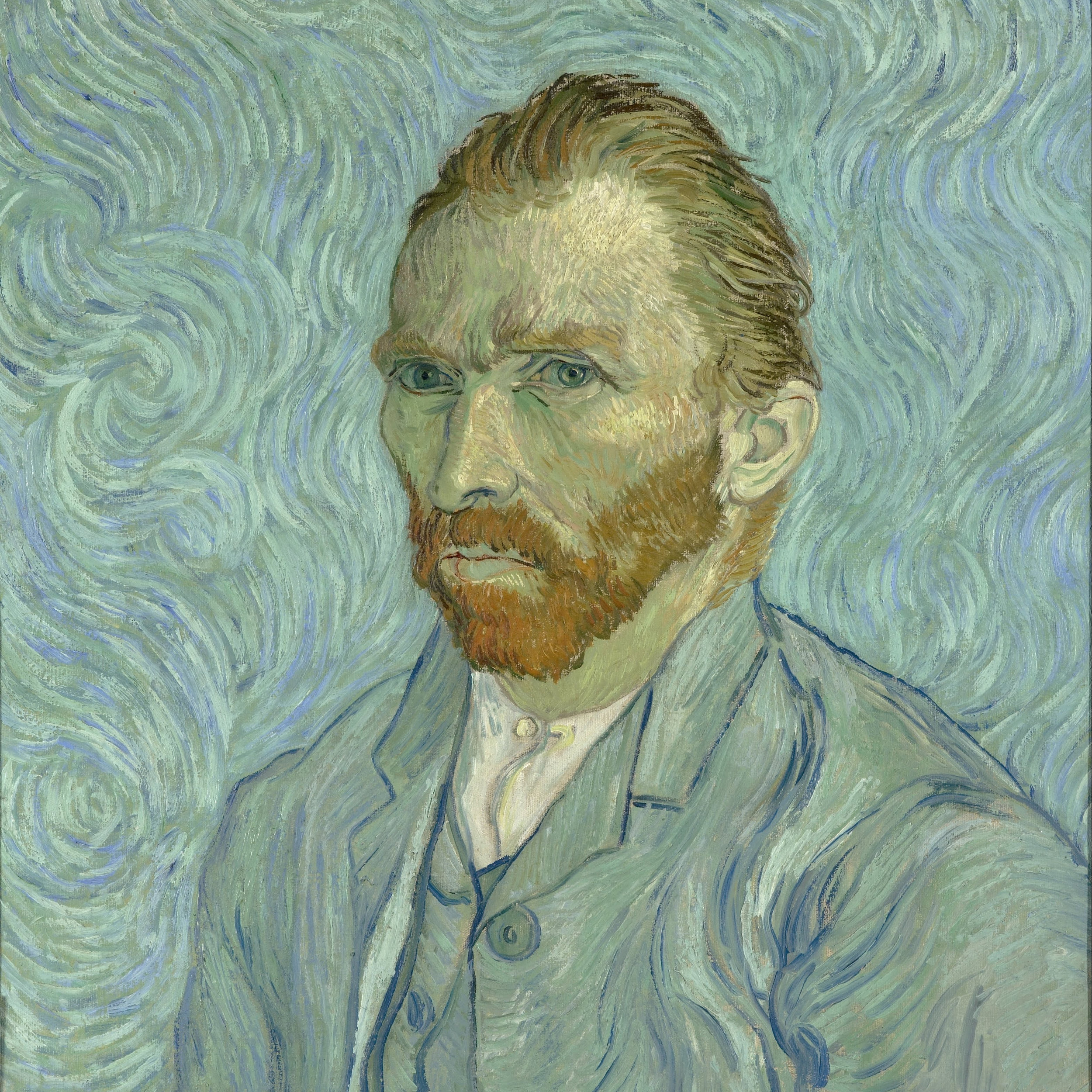 Vincent van Gogh,   Self-Portrait,  1889 // July 2018