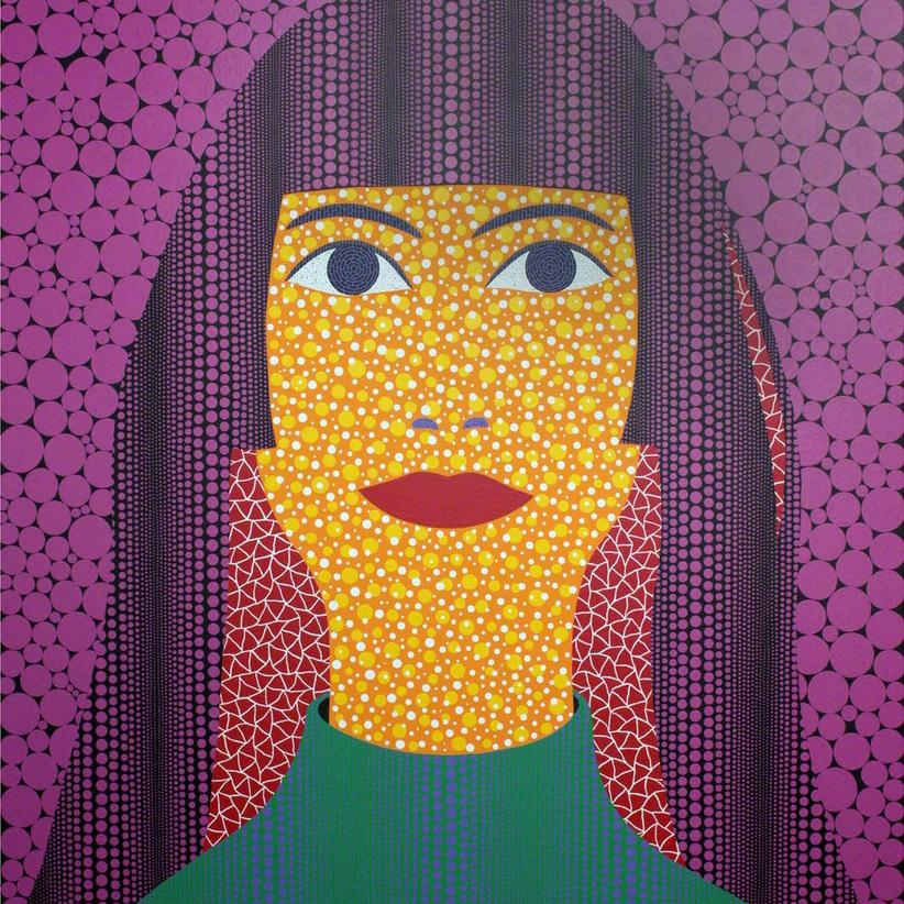 Yayoi Kusama,   Self-Portrait,  2010 // July 2018