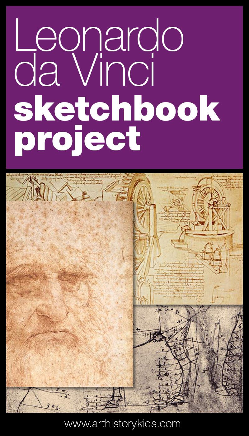 Explore Leonardo da Vinci's notebooks and let his sketches inspire you own creative journaling!