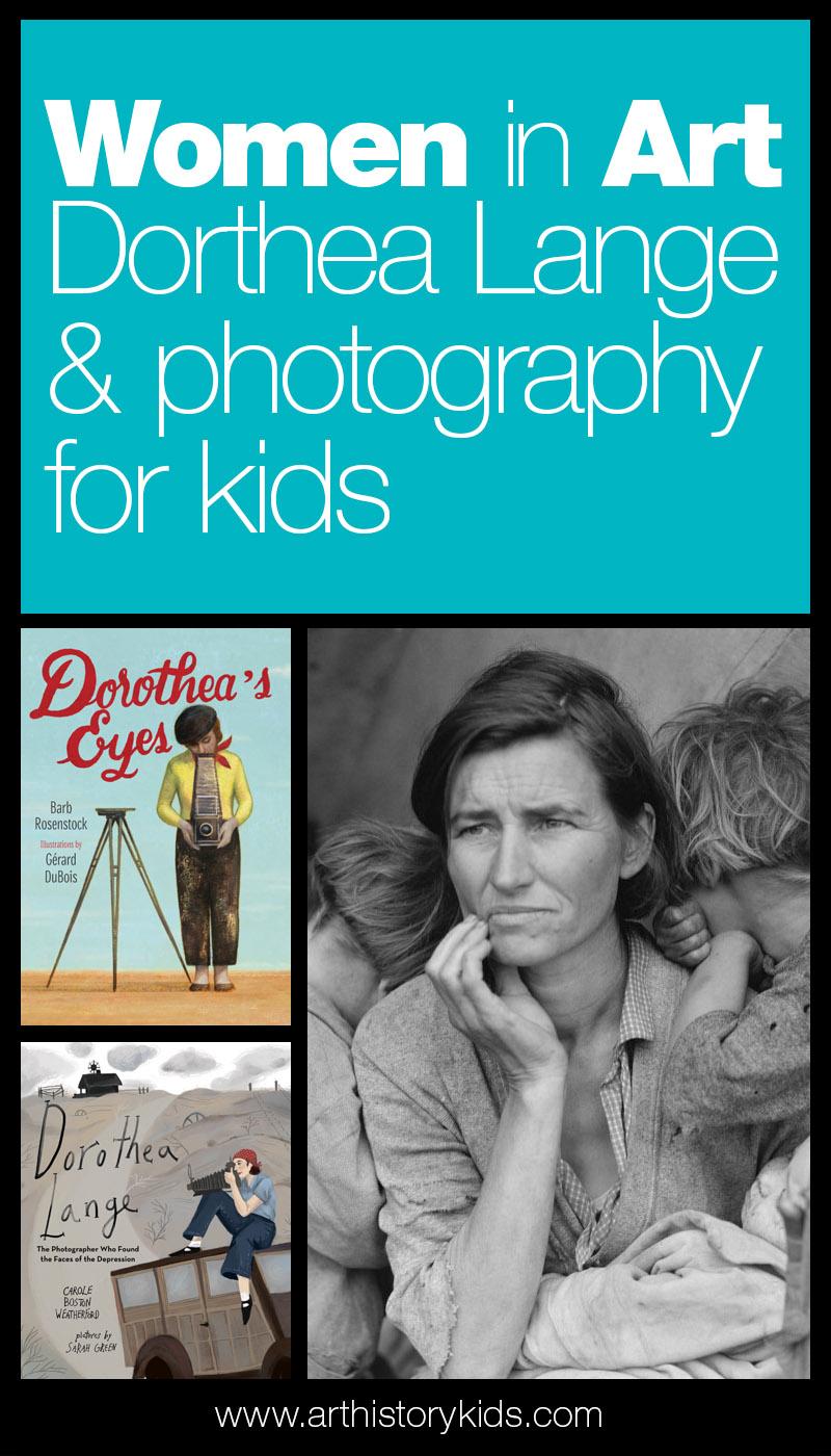 Women in Art - Dorthea Lange for Kids