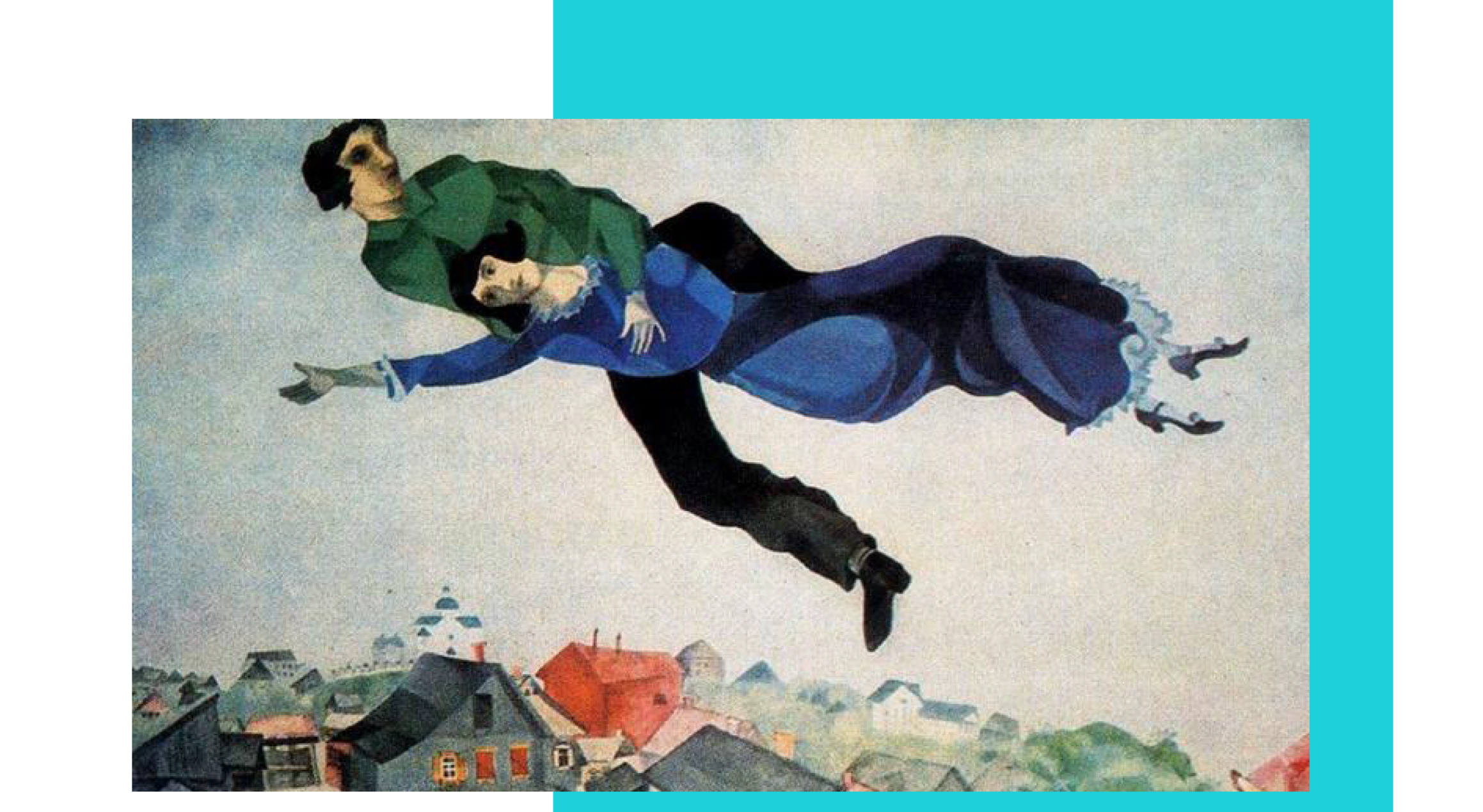 Marc Chagall's Dreamscapes -