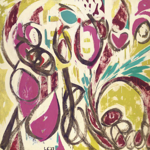 Lee Krasner,   Thaw,  1957 // September 2018